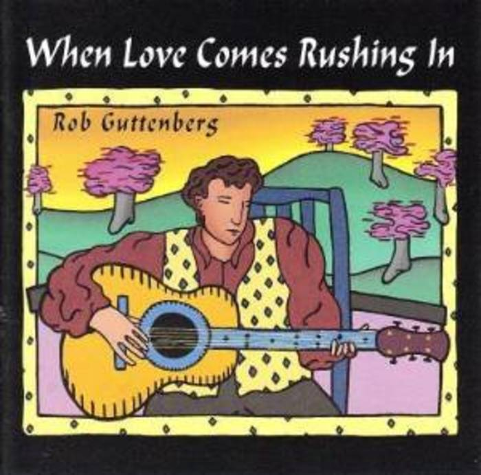 Large when love comes rushing in album cover