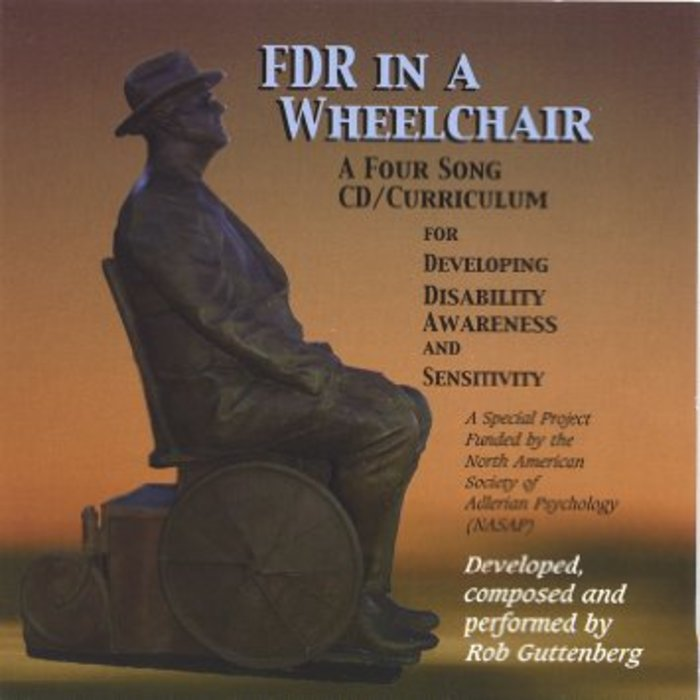 Large fds in a wheelchair album cover